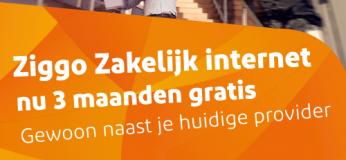 Ziggo Zakelijk gratis