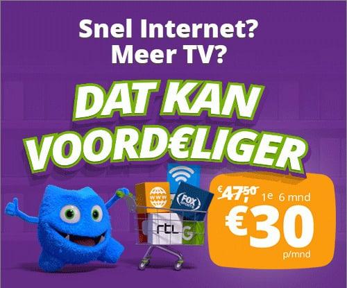 Online.nl actie alles in 1