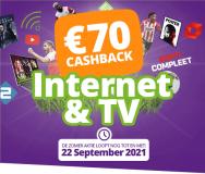 Online cashback actie