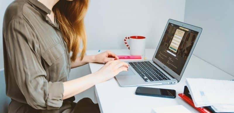 Thuiswerken internet werkplek